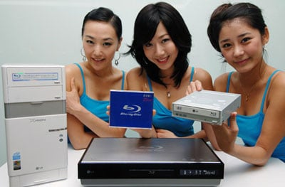 lg's blu-ray disc hardware line-up