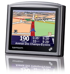 tomtom one europe gps gizmo