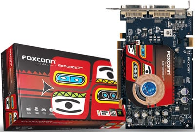 foxconn 7600gt Foxconn enters the graphics card business