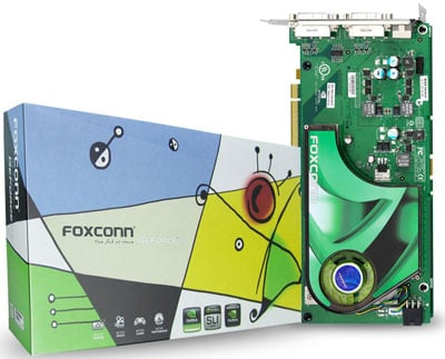 foxconn 7950gx2 Foxconn enters the graphics card business