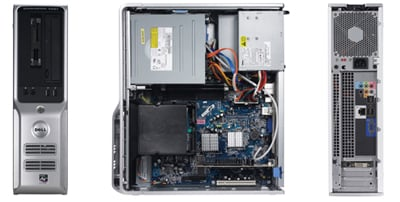 dell dimension c521 amd-based desktop pc