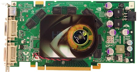 nvidia geforce 7950 gt front