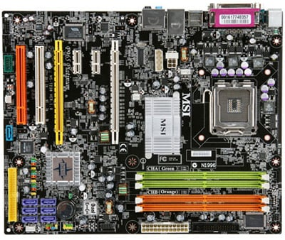 msi p965 platinum ati crossfire-supporting mobo
