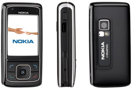 nokia 6288 3g slider phone