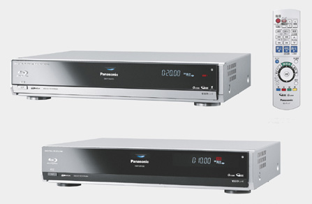 panasonic's diga blu-ray hdd recorders