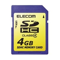 elecom class 4 4gb sdhc