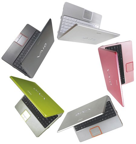 sony's vaio c series - shades of the original iMac?