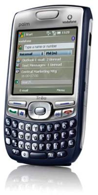 palm 750v smart phone