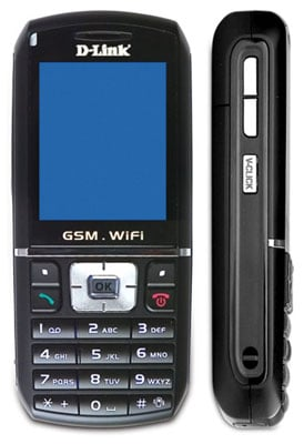 d-link v-click wi-fi gsm phone