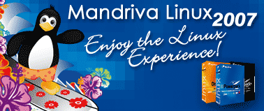Mandriva Linux 2007 welcome