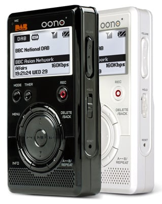 oono minidab pocket digital dab radio
