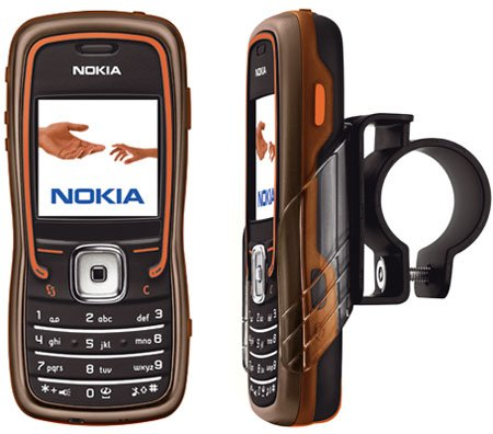 nokia 5500 sport music edition - with bike clip