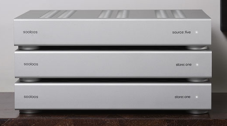 sooloos Source One music system storage units