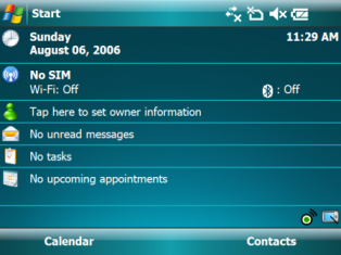 windows mobile 6 - image courtesy msmobilenews.c