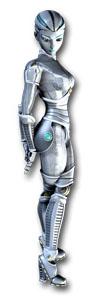 sapphire box-art fembot