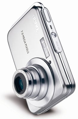 benq's x720 7Mp anti-shake slimline digicam