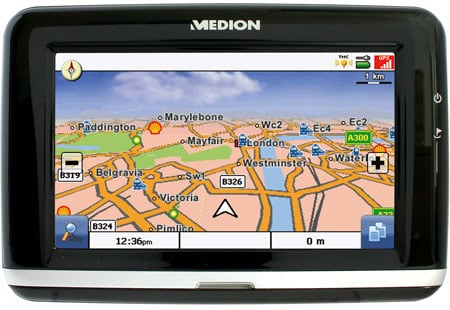 medion gopal pna 470 widescreen gps