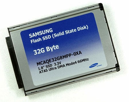 samsung 1.8in solid-state disk