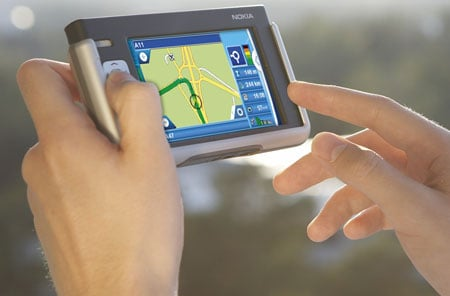 nokia 770 internet tablet navigation