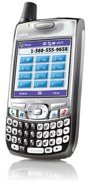 palm treo 700wx smart phone