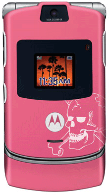 motorola razr v3 tattoo
