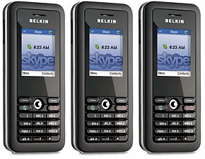 belkin's wi-fi phone for skype