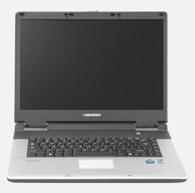 everex nc1500 via c7-m based notebook