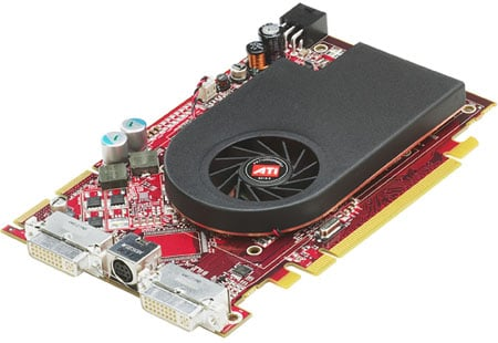 amd ati radeon x1650 xt graphics card