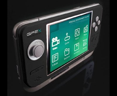 gp2x linux-based handheld games console