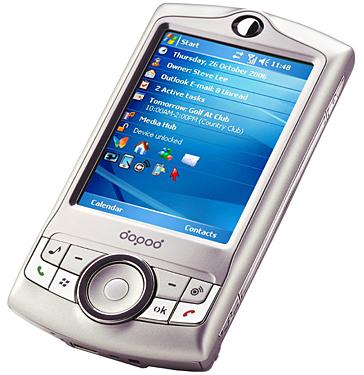 dopod m700 music-centric smart phone