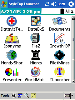 styletap palm os emulator for windows mobile
