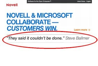 Done deal? The Microsoft Novell partnership needs to clear the GPL