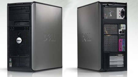 dell optiplex 740 amd-based desktop