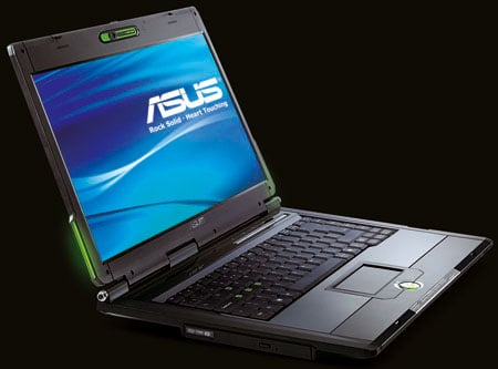 asus g1 gaming notebook