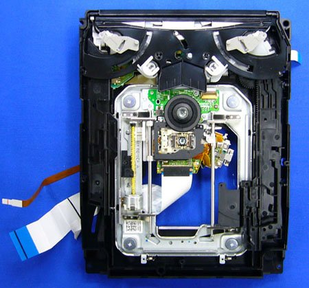 ps3 disassembly - image courtesy pcwatch