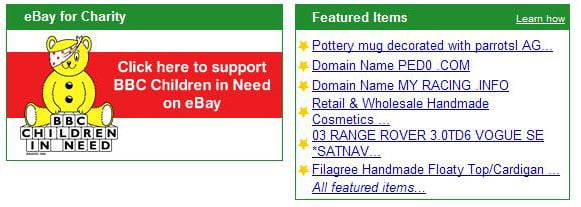 eBay UK in charity appeal outrage