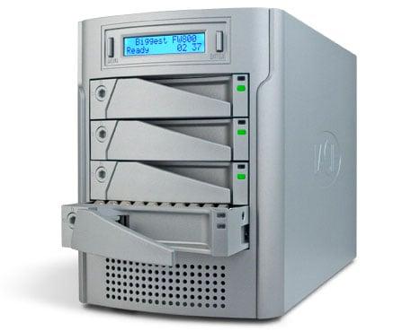 lacie biggest fw800 raid drive system