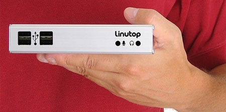 linutop compact diskless linux pc