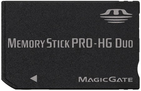 sony memory stick pro-hg