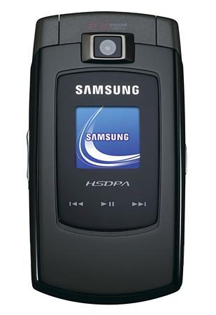Samsung's SGH-Z560 HSDPA phone