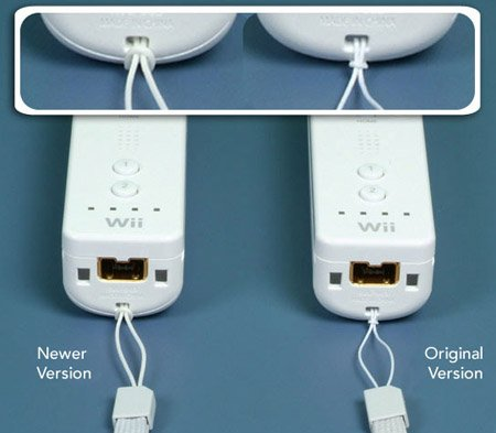 nintendo wii remote straps... before and after