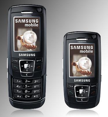 samsung ultra edition 13.8 - aka z720 - hsdpa slider phone