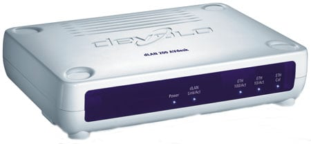 devolo dlan 200 avdesk powerline ethernet adaptor front