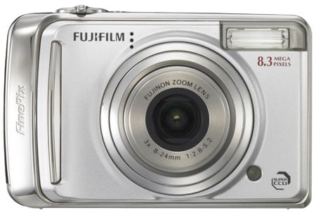 fujifilm finepix a800 front