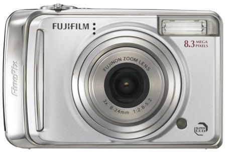 fujifilm finepix a800 front