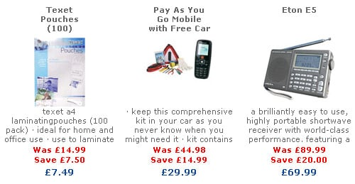 A free car with every mobile at Maplin