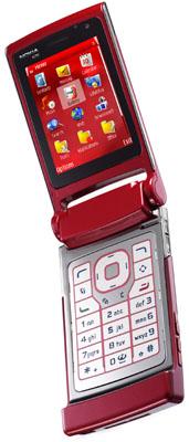 nokia n76 clamshell phone