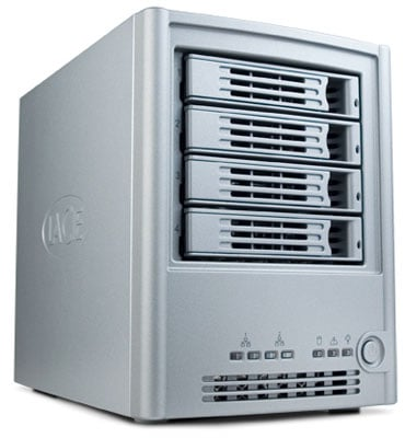 lacie ethernet disk raid front