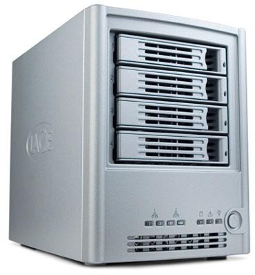 lacie ethernet disk raid front