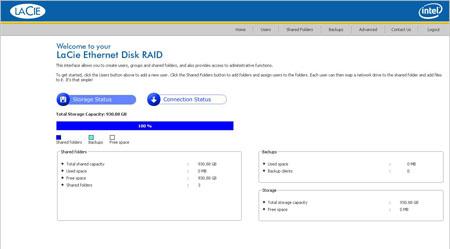 lacie ethernet disk raid admin utility